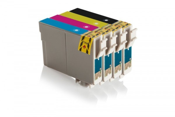 Alternativ zu Epson C13T0891/ T0891 Tinten Sparset CMYK