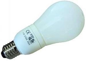 Energie Sparlampe E27, Energiesparlampe, 11W = 50W, 540 Lumen , 2700K warmweiß