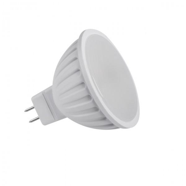 Kanlux®LED Strahler / Leuchtmittel, Länge 49 mm, Sockel MR16, Winkel 120º, 5W = 40W, 12V DC, 370 Lu