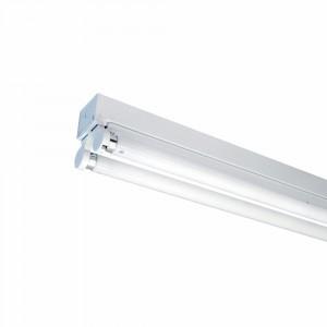 V-TAC®Fassung / Halterung / Deckenfassung T8 / G13 aus Metall für 2x 60CM LED Röhren