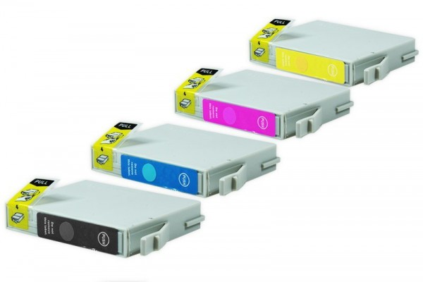Alternativ zu Epson C13T04454010/T0445 Tinten Spar-Set (BK,CMY) 4Stk.