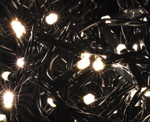 40er LED Lichterkette, Länge 1200 cm, für den Innen- und Außenbereich, warmweiß