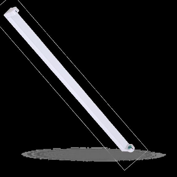 SpectrumLED® Fassung / Halterung / Deckenfassung T8 / G13 aus Kunststoff für 1x 120CM LED Röhre