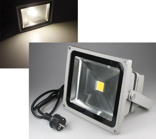 Chilitec® LED Fluter / Scheinwerfer mit Schutzklasse IP44 für den Außenbreich, 30 Watt, 2400 Lumen,
