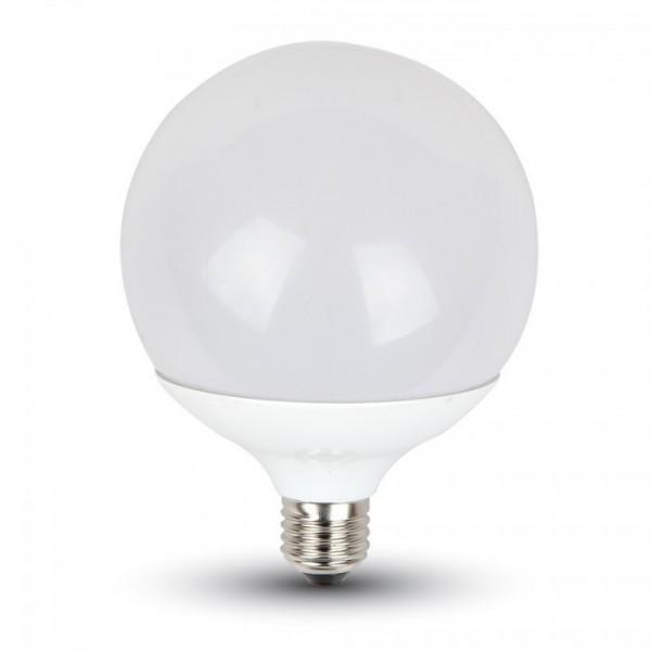 V-TAC® GLOBE G120 LED Leuchtmittel, Länge 158 mm, Sockel E27, Winkel 200º, 13W = 90W, 1055 Lumen, 27