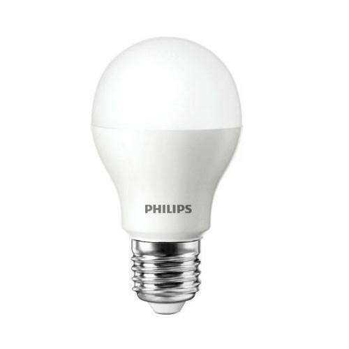 Philips® LED Leuchtmittel, Länge 103 mm, Sockel E27, Winkel 150º, 5W = 45W, 470 Lumen, 2700K warmwei