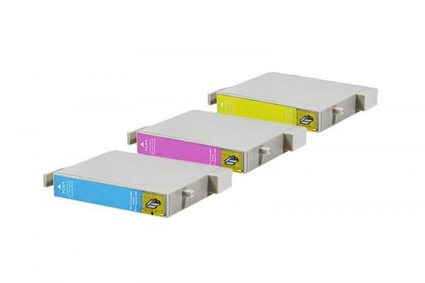 Alternativ zu Epson C13T048B4010 / T048B Spar Set (LC,LM,Y) 3 Stück
