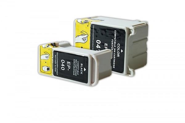Alternativ zu Epson T040 / T041 Tinten Multipack (BK, CMY)