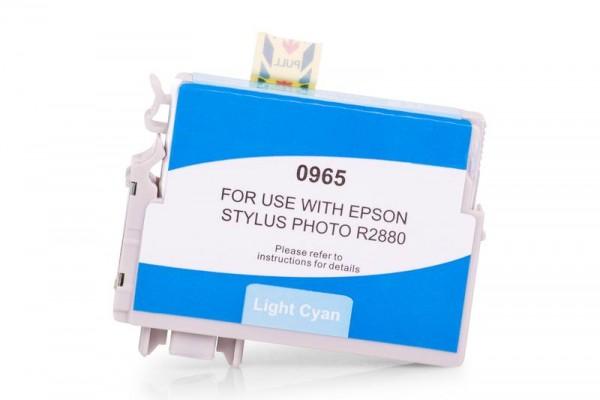 Alternativ zu Epson C13T09654010 / T0965 Tinte light Cyan