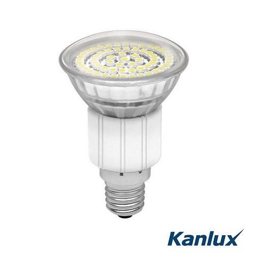 Kanlux® LED Strahler / Leuchtmittel, Länge 76 mm, Sockel E14, Winkel 120º, 3,3W = 30W, 260 Lumen, 65