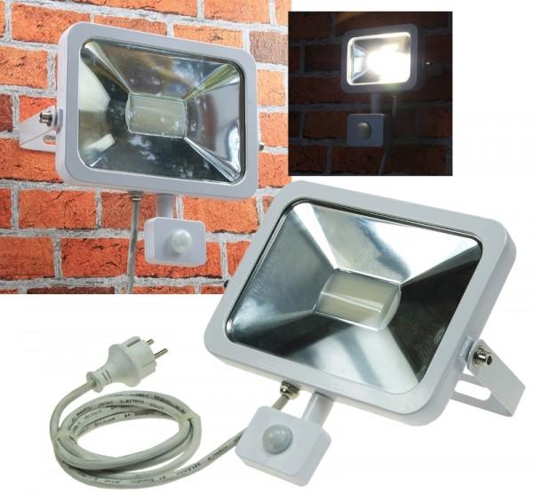 Chilitec® LED Fluter / Scheinwerfer mit Bewegungsmelder, Schutzklasse IP44 für den Außenbereich, 50