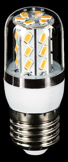 LEDLine® LED Leuchtmittel, Länge 80 mm, Sockel E27, Winkel 270º, 5W = 35W, 350 Lumen, 3000K warmweiß