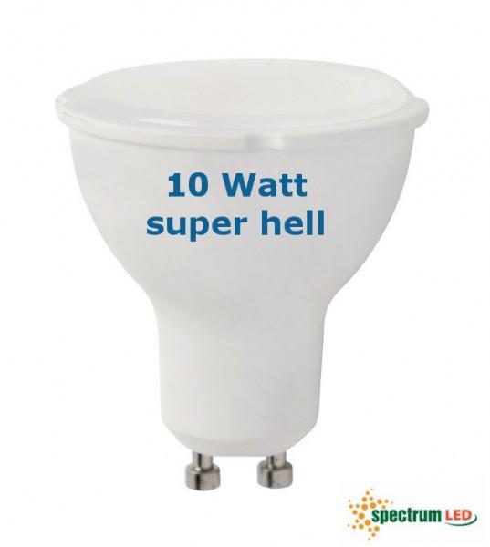 SpectrumLED® LED Strahler / Leuchtmittel, Länge 55 mm, Sockel GU10, Winkel 120º, 10W = 70W, 800 Lume