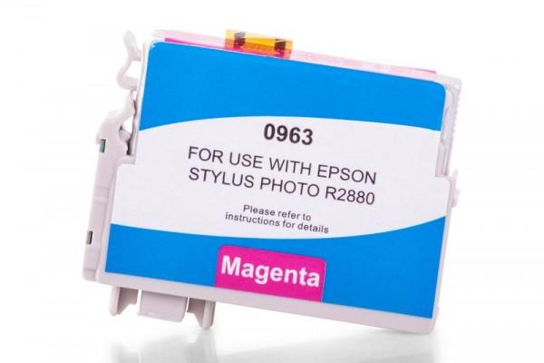 Alternativ zu Epson C13T09634010 / T0963 Tinte Magenta