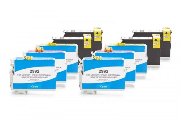 Alternativ zu Epson C13T29914010 - C13T29944010 / 29XL Tinten Spar-Set (4x Schwarz, 2x Cyan, 2x Mage