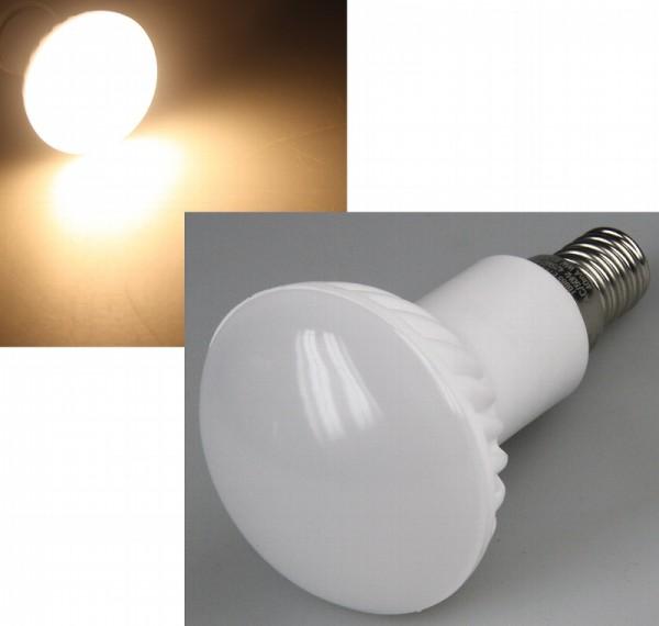 Chilitec® R50 LED Strahler / Leuchtmittel, Länge 85 mm, Sockel E14, Winkel 160º, 4W = 35W, 330 Lumen