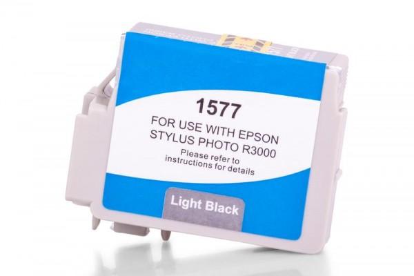 Alternativ zu Epson C13T15774010 / T1577 Tinte hell Black