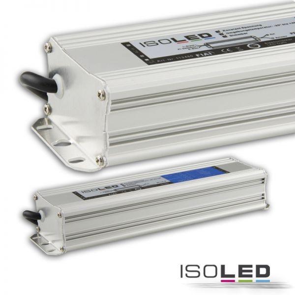 IsoLED® LED Trafo dimmbar, Schutzklasse IP65, LxBxH 237x64x41 mm, 12 Volt Gleichstrom DC, 100 Watt