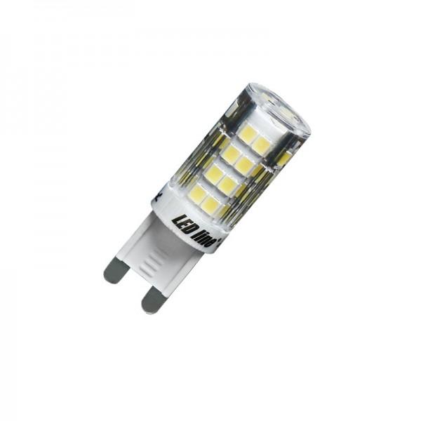 LED Line® LED Leuchtmittel, Länge 50 mm, Sockel G9, Winkel 270º, 4W = 35W, 350 Lumen, 3000K warmweiß