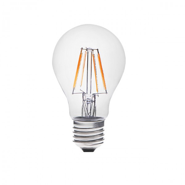 Kanlux® Filament LED Leuchtmittel, Länge 104 mm, Sockel E27, Winkel 360º, 4W = 40W, 420 Lumen, 3000K