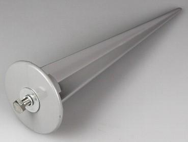 Chilitec® Erdspieß für LED Fluter / Strahler Ø6cm x 20cm (für größere Fluter 30W + 50Watt Leistung)