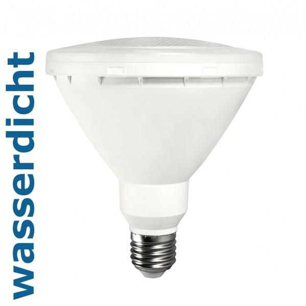 Bioledex® RODER PAR38 LED Strahler / Leuchtmittel wasserdicht, Länge 139 mm, Sockel E27, Winkel 30º,