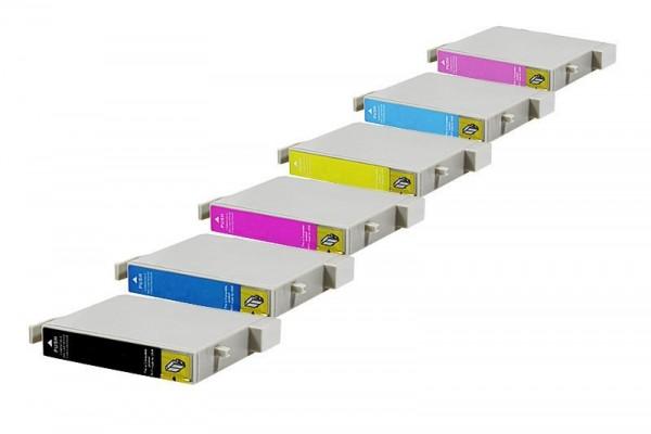 Alternativ zu Epson C13T04874010 / T0487 Spar Set (BK,C,M,Y,LC,LM)6 Stk.