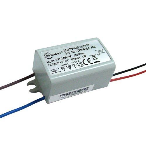 Bioledex® LED Trafo Mini in kompakter, kleiner Bauform, für Möbeleinbau zugelassen, Schutzklasse IP6