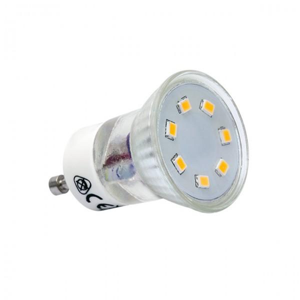 Kanlux®LED Strahler / Leuchtmittel, Länge 50 mm, Sockel GU10, Winkel 120º, 2,2W = 20W, 200 Lumen, 6
