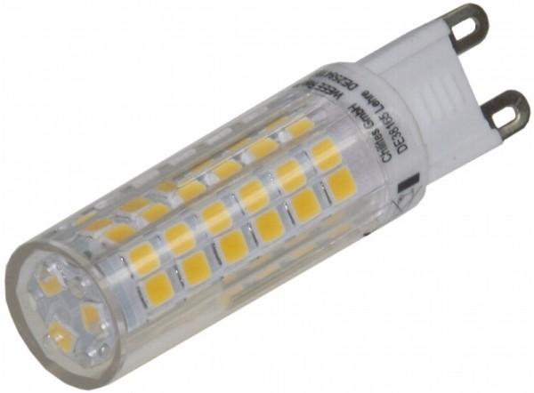 Chilitec® LED Leuchtmittel, Länge 61 mm, Sockel G9, Winkel 330º, 6W = 50W, 540 Lumen, 3000K warmweiß