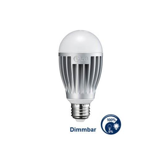 LG® LED Leuchtmittel dimmbar, Länge 126 mm, Sockel E27, Winkel 240º, 12,8W = 75W, 810 Lumen, 2700K w