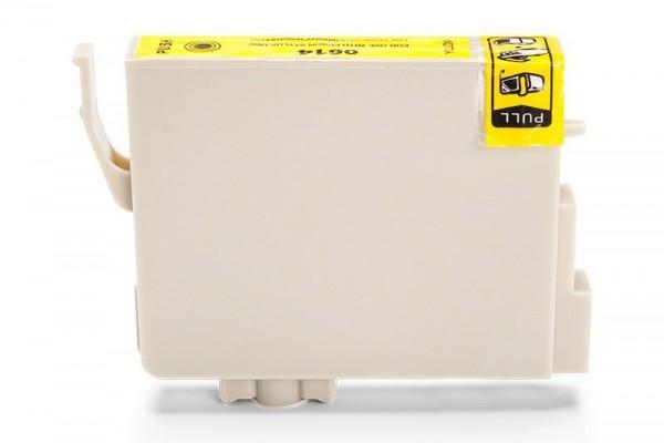 Alternativ zu Epson C13T06144010 / T0614 Tinte Yellow