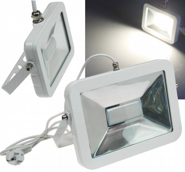 Chilitec® LED Fluter / Scheinwerfer Schutzklasse IP44 für den Außenbereich, 50 Watt, 3800 Lumen, 420