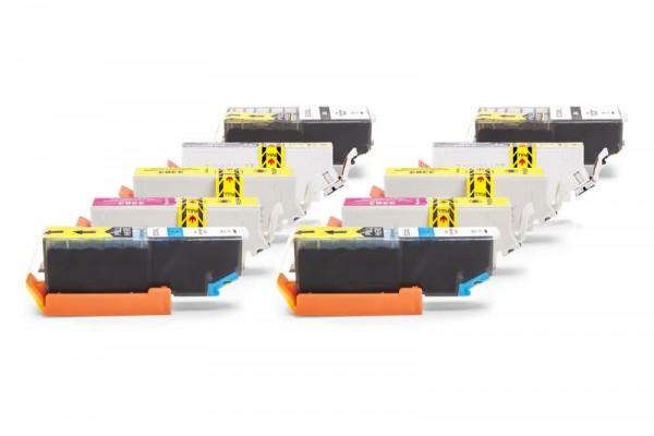Alternativ zu Epson C13T33574011 / 33XL Tinten Spar-Set (2 x Schwarz, 2x Schwarz Foto, 2x Cyan, 2x M