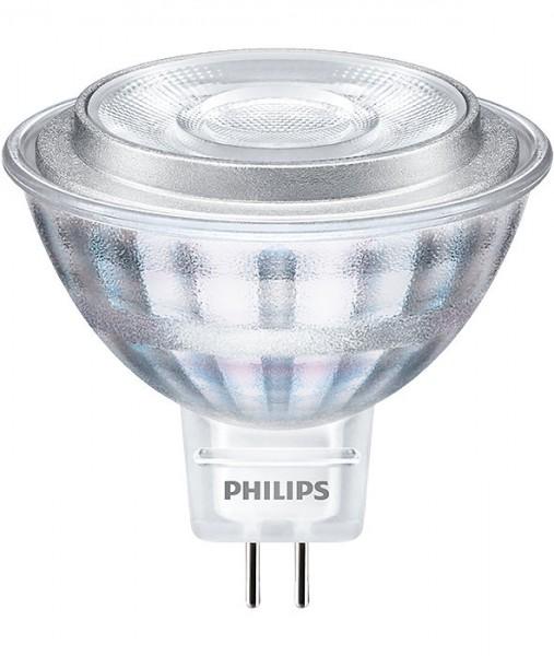 Philips® CorePro LED Strahler / Leuchtmittel, Länge 50 mm, Sockel MR16, Winkel 36º, 8W = 45W, 12V AC