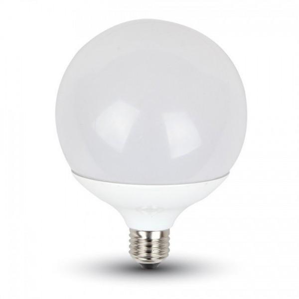 V-TAC®GLOBE LED Leuchtmittel, Länge 156 mm, Sockel E27, Winkel 200º, 15W = 100W, 1150 Lumen, 2700K