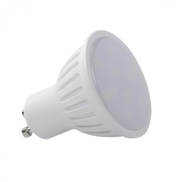 Kanlux® TOMI LED Strahler / Leuchtmittel, Länge 55 mm, Sockel GU10, Winkel 120º, 3W = 30W, 250 Lumen