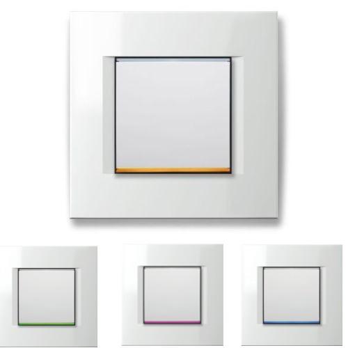 TOUCH LED Dimmer EM25PW (Master) - für dimmbare und (nicht dimmbare) LED Leuchtmittel 0 - 300 Watt