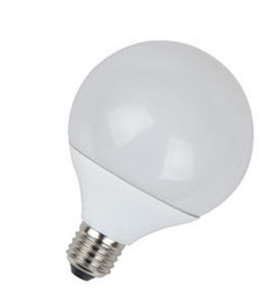 V-TAC® GLOBE LED Leuchtmittel, Länge 133, Sockel E27, Winkel 200º, 10W = 75W, 810 Lumen, 2700K warmw