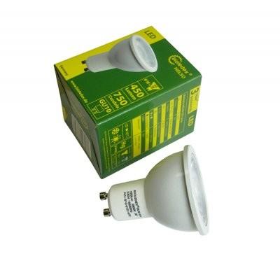 Bioledex® HELSO LED Strahler / Leuchtmittel, Länge 57 mm, Sockel GU10, Winkel 38º, 6W = 50W, 550 Lum