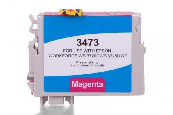Alternativ zu Epson C13T34734010 / 34XL Tinte Magenta XL