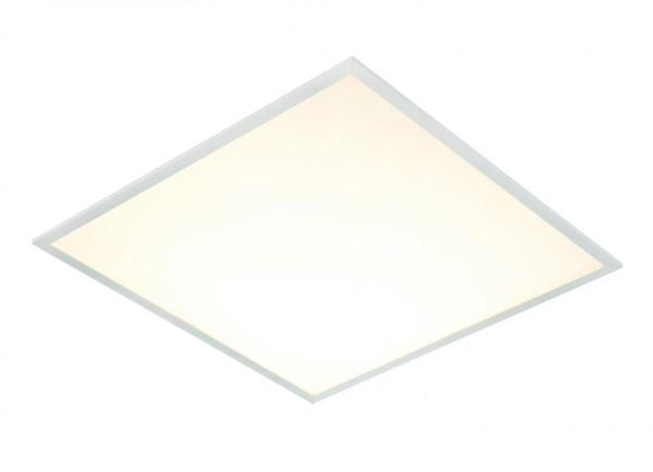 Bioledex® LED Panel Unterputz, Paneel, Rasterleuchte, Gehäuse weiss, 620x620mm, 40 Watt, 4050 Lumen,