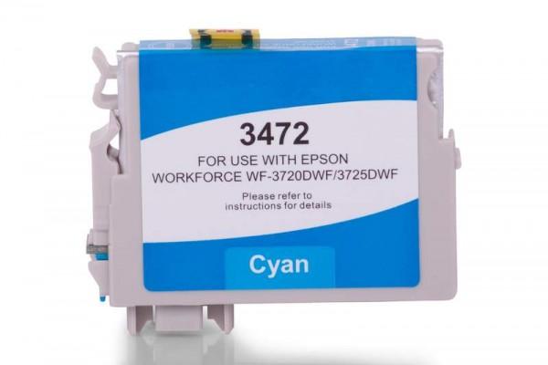 Alternativ zu Epson C13T34724010 / 34XL Tinte Cyan XL
