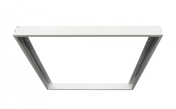 Bioledex Aufbaurahmen für LED Panels 625x625 / 620x620 mm weiss für Wand & Deckenmontage