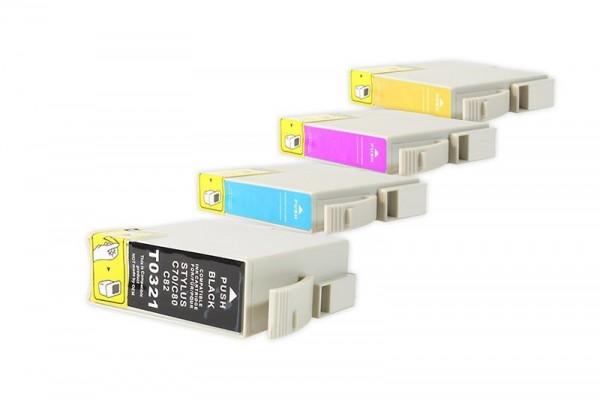 Alternativ zu Epson T0321-T0424 Tinten Spar-Set (BK,C,M,Y) 4 Stück