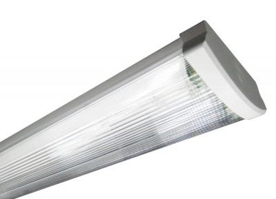 Bioledex® SIMPO Fassung / Halterung / Deckenfassung T8 / G13 aus Kunstoff für 2x 120CM LED Röhren